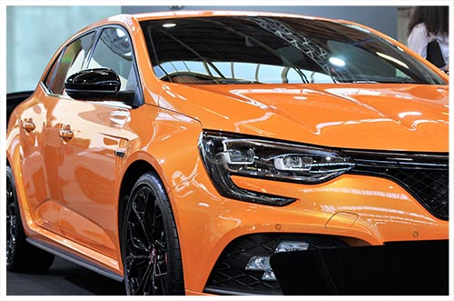 Renault orange